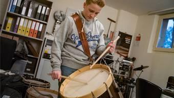 Maurice Weiss ist mit 14 Jahren einziger Doppel-Trommelkönig in der Geschichte des Offiziellen.