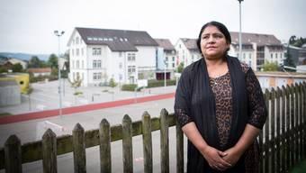 Aisha Mohammad auf ihrer Terrasse: «Es macht mich traurig, dass es so weit kommen musste.»