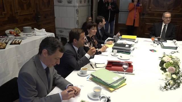 Der Bundesrat tagt «extra muros» in Solothurn