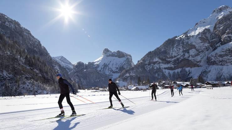 Die Wintersaison ist bislang erfolgreich: Die Übernachtungszahlen stiegen im Dezember.
