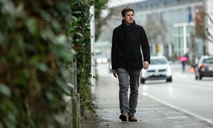 Daniel Hölzle, Präsident der Grünen Aargau