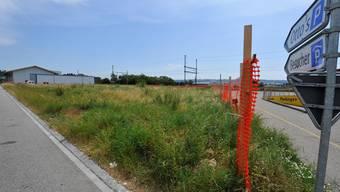 Noch weist bloss ein Bauzaun darauf hin, dass an der Maienstrasse dereinst gebaut werden soll.