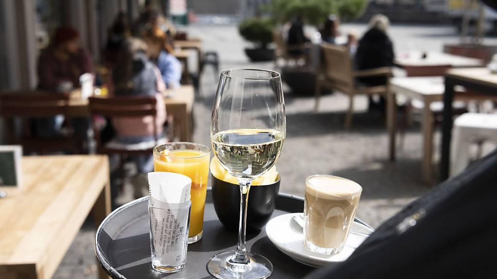 Restaurants in der Ostschweiz wurden von den Gästen im Jahr 2020 vergleichsweise besser bewertet als im Rest des Landes. (Archivbild)