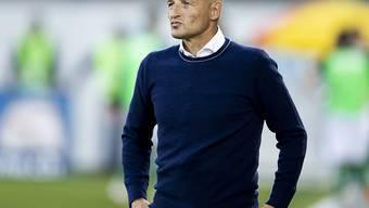 Peter Zeidler leidet als Coach mit dem FC St. Gallen mit
