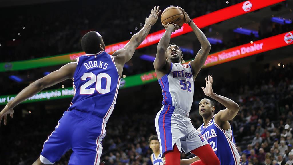 Das Coronavirus legt die Action in der NBA lahm
