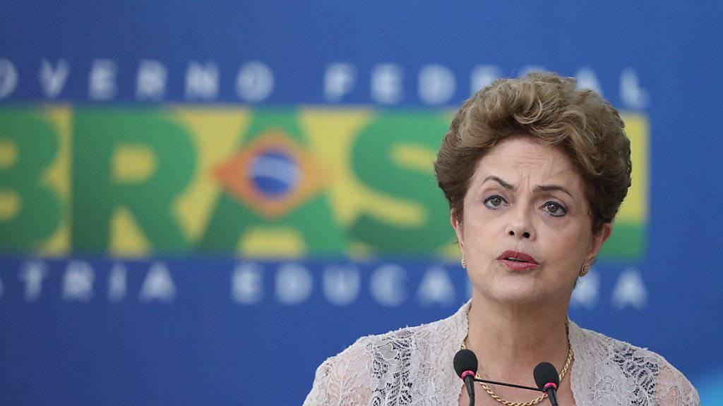 Brasiliens Präsidentin Dilma Rousseff (Archiv)
