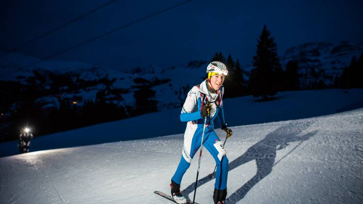 Fabian Umbricht am Night-Race in Lenk