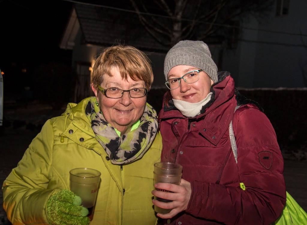 Nachtschlitteln in Landschlacht (© FM1Today/Stephanie Rohner)