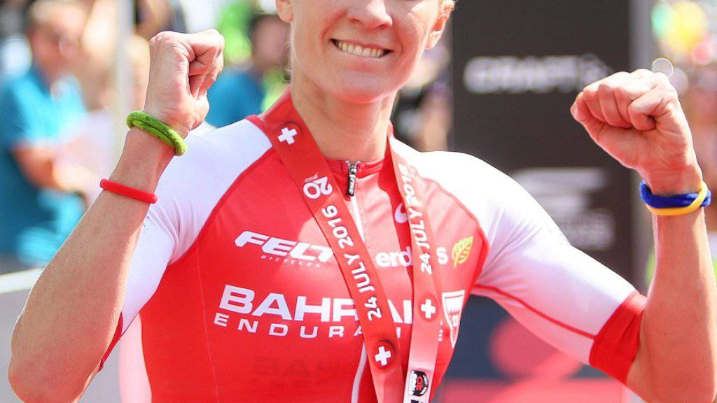 Daniela Ryf entschied innerhalb von acht Tagen zwei Ironman-Rennen zu ihren Gunsten