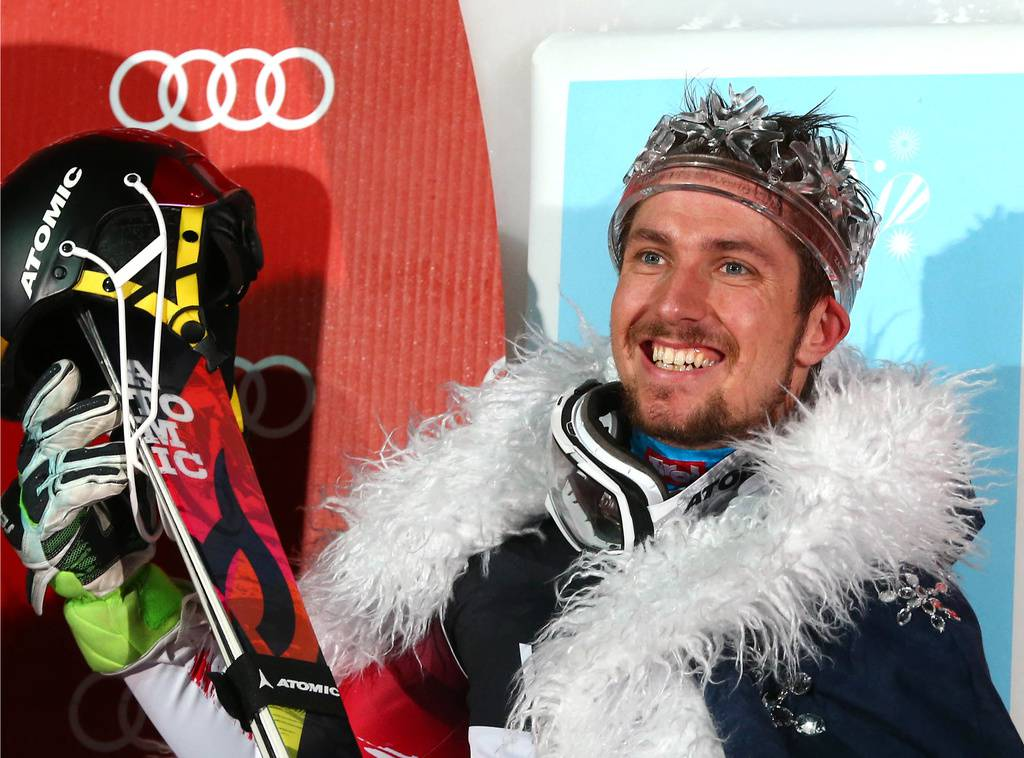 2015 wurde Hirscher zum Slalom-König gekürt. (© Keystone)
