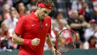 Davis-Cup-Wochenende: Schweiz-Holland mit Roger Federer und Stan Wawrinka