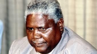 Nach langem Krebsleiden gestorben: Simbabwes Vizepräsident John Nkomo (Archiv)