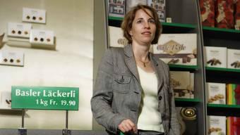 Das Läckerli Huus von Miriam Blocher in Münchenstein bei Basel ist auch von der Mehrtwert-Abgabe betroffen.