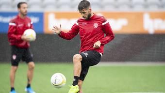 Nicolas Hunziker (hier im Dress des FC Thun) beendet seine Karriere 24-jährig.