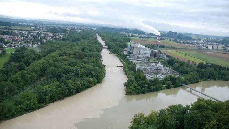 Mit der Renaturierung sollen Hochwasser wie hier im 2007 weniger stark ausfallen.