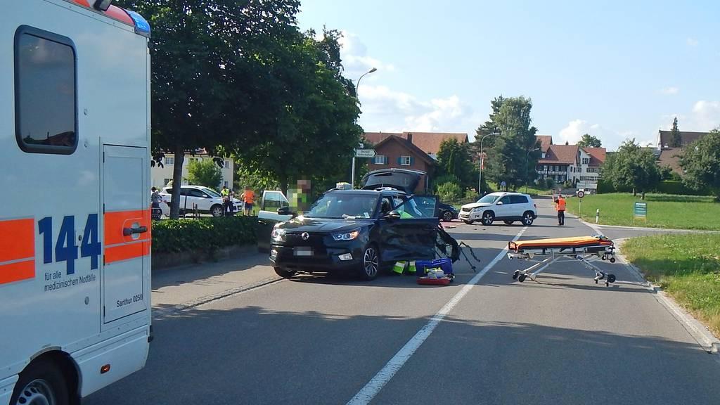 Mann bei Unfall schwer verletzt
