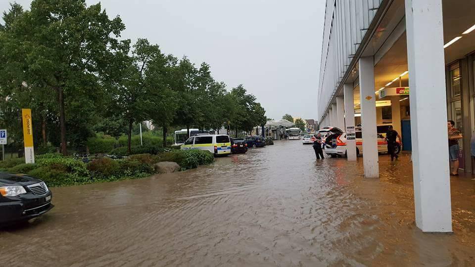 Hochwasserreportage Zofingen