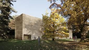 Mehr Platz für die Kunst, für die Kunst allein: Der grösste der drei Anbauten ist allein für sie reserviert.