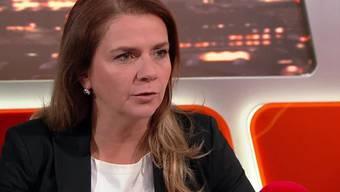 Birgit Kelle machte in der Sendung «TalkTäglich» mehr als nur eine Ansage.
