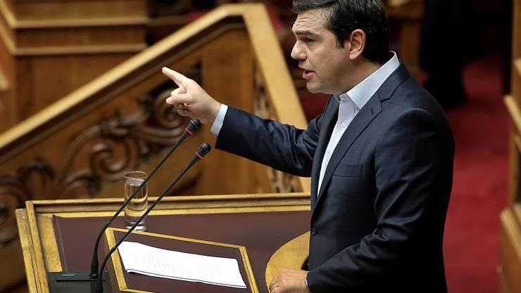 Der griechische Ministerpräsident Alexis Tsipras hat seine Regierung umgebildet. Gehen mussten Minister, die sich gegen Reformen gesträubt hatten. (Archivbild)