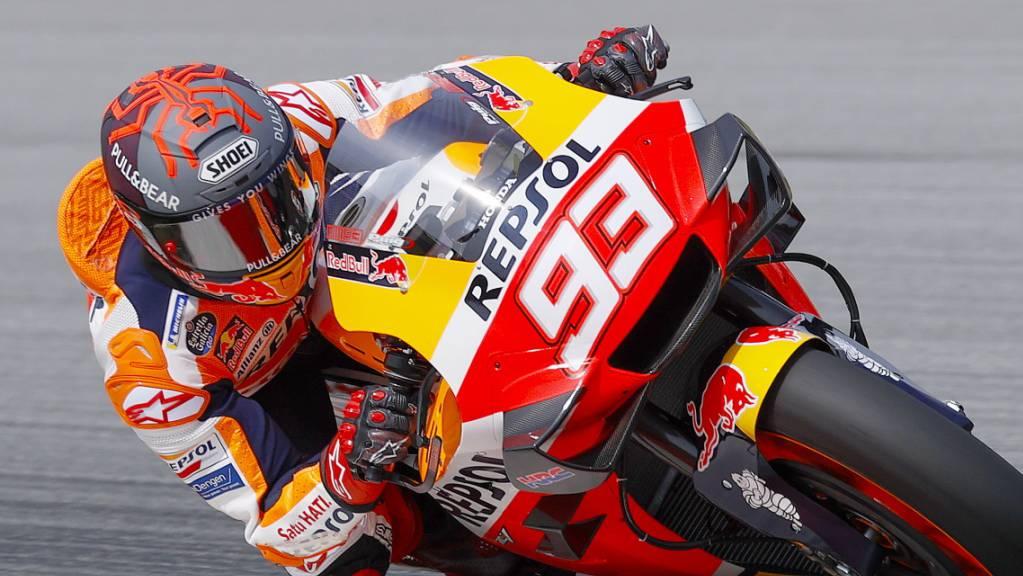 Marc Marquez muss weiter auf seine Rückkehr auf die Rennstrecke warten.