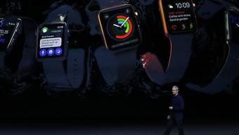 CEO Tim Cook präsentiert in San Francisco das Neuste aus dem Hause Apple.