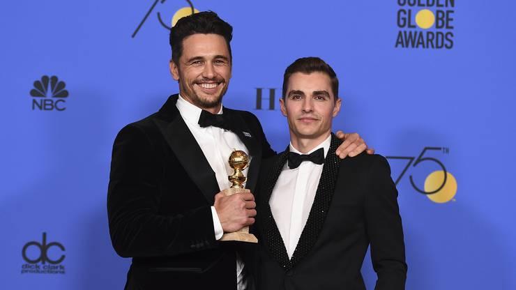 Bester Schauspieler in einer Komödie/Musical: James Franco (links)