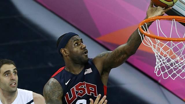 Die US-Basketballer um Lebron James erreichen den Final.