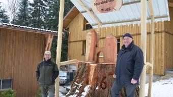 Einweihung Forstwerkhof Brugg