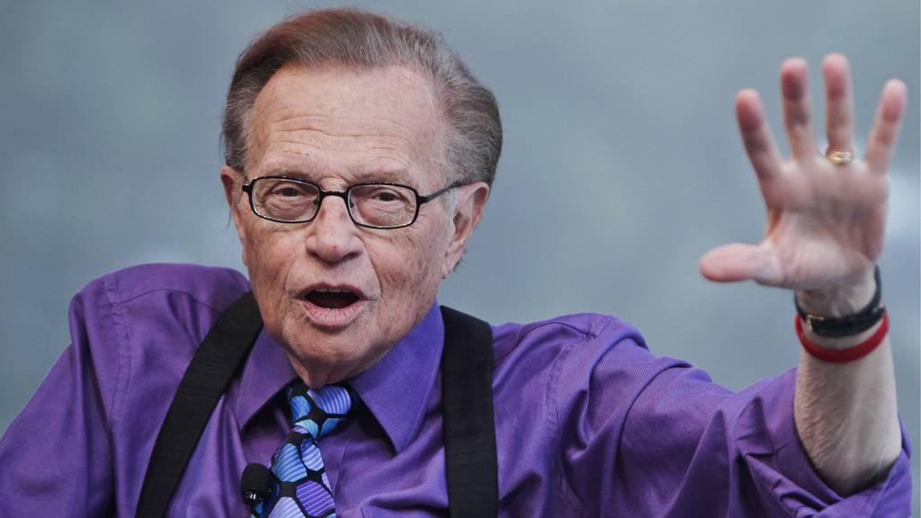 Talk-Legende Larry King im Alter von 87 Jahren gestorben