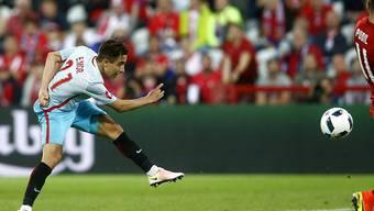 Dynamisch: Der türkische Youngster Emre Mor zeigte eine starke Leistung