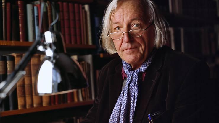 """""""Jeder kann philosophieren"""": Der Schweizer Philosoph Hans Saner starb am 26. Dezember 2017. (Archivbild)"""