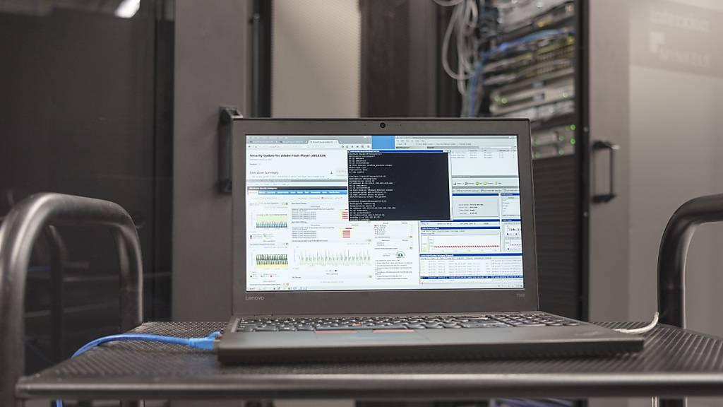 Der Bund will mit drei neuen Rechenzentren unter anderem die Betriebskosten optimieren und die Sicherheit erhöhen. (Symbolbild)