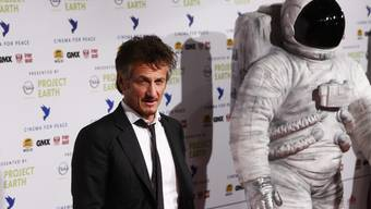 Bekam Ehrenpreis: Der US-Mime Sean Penn
