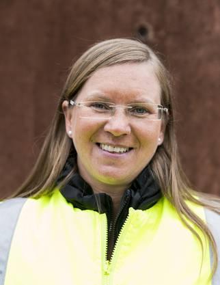 «Ich fahre auch mal mit einem mit oder bringe eine Tüte Weggli.» Marina Neidhardt,Teamleiterin Rheinhafen Rheinfelden