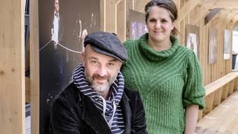 Matthias Grupp und Gina Durler brechen mit dem Vorstadttheater zu neuen Ufern auf. Bild: Kenneth Nars