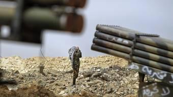 Erhoffen sich mehr Unterstützung von der NATO: Libysche Rebellen
