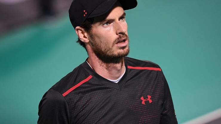 Andy Murray machen weiter Hüftprobleme zu schaffen