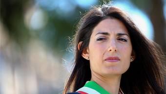Roms Bürgermeisterin Virginia Raggi hat ein Strafverfahren am Hals.reuters