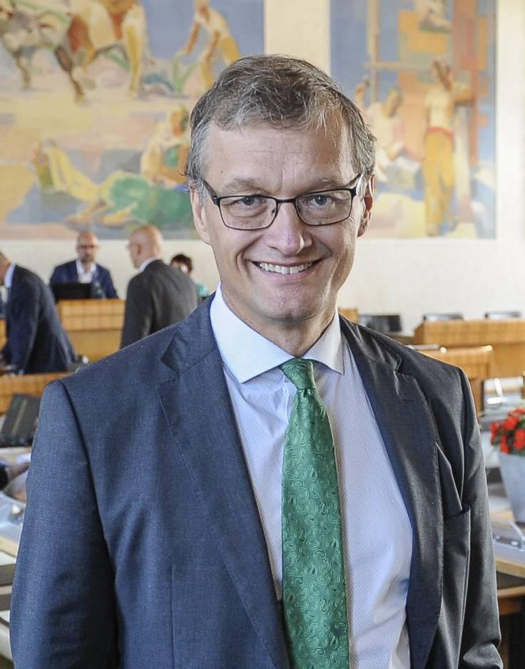 Klaus Kirchmayr, Fraktionschef der Grünen