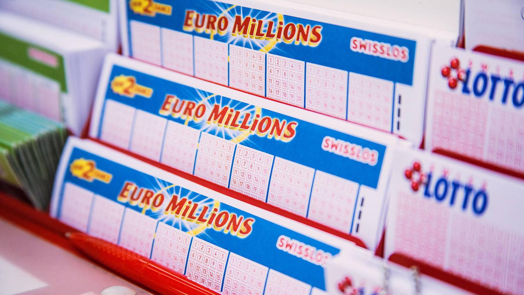 Aargauerin gewinnt 184 Millionen Franken bei Euromillions