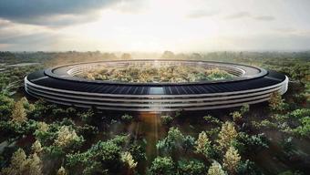 Gigantisch: Die geplante Apple-Zentrale im kalifornischen Cupertino