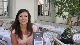 Jacqueline Habegger ist die Gewinnerin des Nachtessens in der «Couronne».