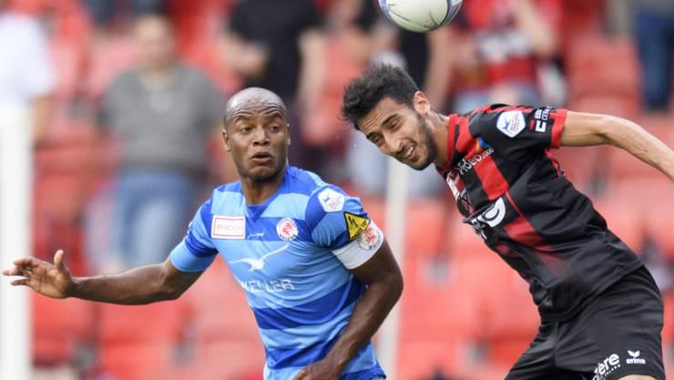 Silvio (hier noch im Dress des FC Winterthur gegen Xamax) traf zum Auftakt der Challenge League für Wil zweimal gegen seinen Ex-Klub