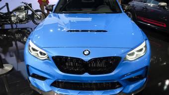 Der Autobauer BMW hat im vergangenen Jahr seine Rekordjagd fortgesetzt: Der deutsche Konzern hat 2,5 Millionen Fahrzeuge der Marken BMW, Mini und Rolls-Royce verkauft. Das sind 1,2 Prozent mehr als im Vorjahr. (Archiv)