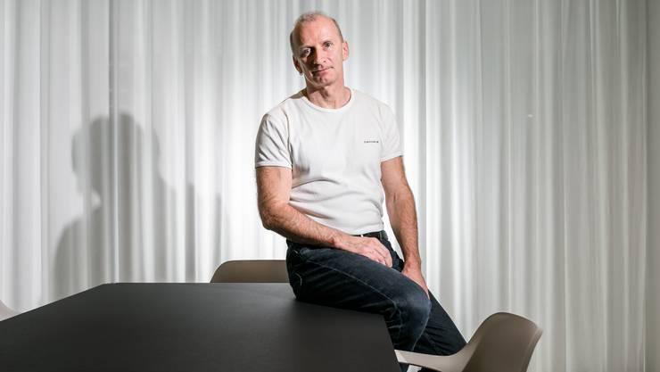 Psychiater Frank Urbaniok arbeitet in einer Gemeinschaftspraxis, in der er keinen festen Arbeitsplatz hat.
