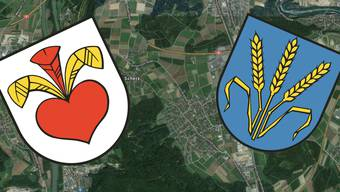 Fusion Lupfig-Scherz: Am Schluss wird das Stimmvolk über Wappen und Ortsnamen der neuen Gemeinde entscheiden.