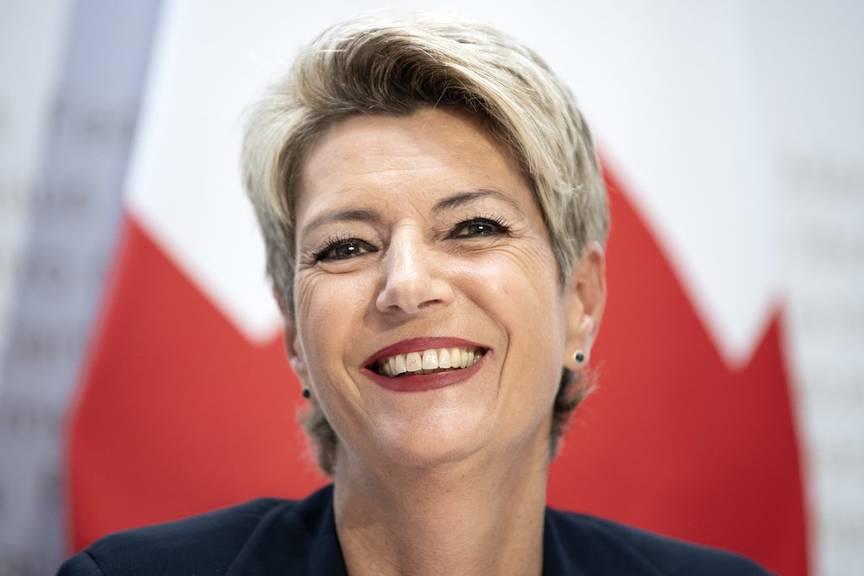 Jonschwil ist der Bürgerort von Bundesrätin Karin Keller-Sutter. (Bild: Keystone)