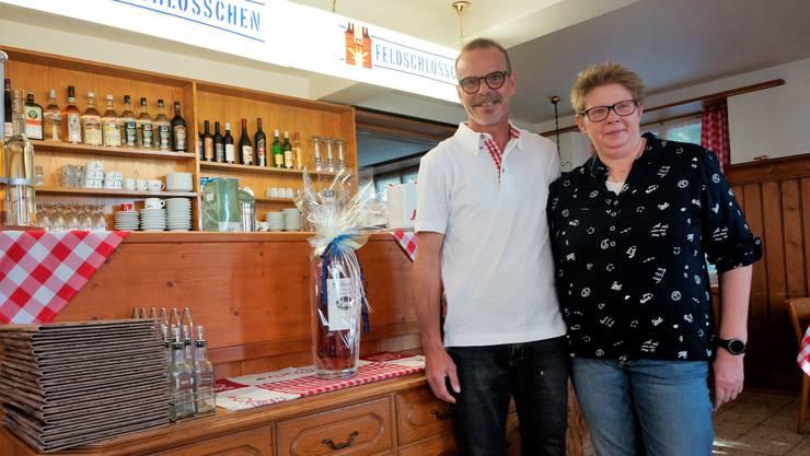 Annett und Bruno Thomet haben die Pacht des Glutzenbergs übernommen.