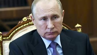 Kremlchef Wladimir Putin hat nun auch noch einen Verwandten, der in der russischen Innenpolitik aktiv ist. Foto: Alexei Nikolsky/Pool Sputnik Kremlin/AP/dpa